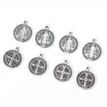 Cross-Pendant Jewelry Rosary-Tag Catholic Manufacturing 6PCS Zinc-Alloy-Material