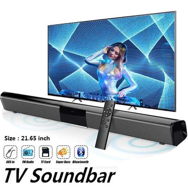 2020 Nieuwe Nieuwste Draadloze Bluetooth Soundbar Stereo Speaker Tv Home Theater Sound Bar 330 350