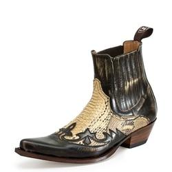 Inverno Uomini Britannici di Moda di Alta Qualità DELL'UNITÀ di elaborazione di Cuoio Slip on Stivali Traspirante Chelsea Stivali Maschio casual Zapatos De Hombre D351-1
