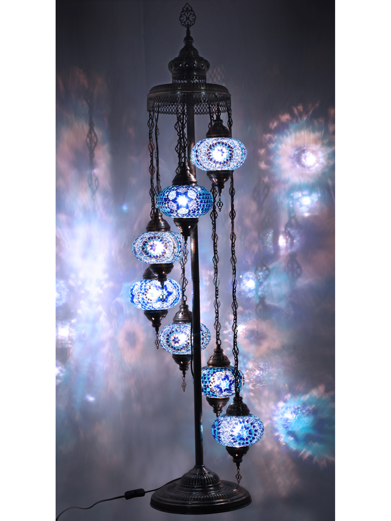 Picture of: Amazing Turkish Floor Lamp Mosaic Moroccan Vintage Handmade Standing Light Turkish Lamp Floor Lamps Aliexpress