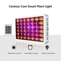 Full spectrum intelligent dimming plant growth supplement light remote control timing patented plant light