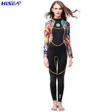 Jellyfish-Clothing Wetsuit Surf Scr-Neoprene HISEA Women Diving-Suit-Equipment Stitching