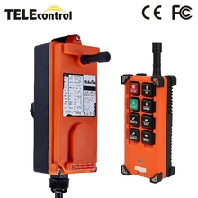 Industrial remote controller switches F21-E1B Hoist Crane Control Lift Crane 1 transmitter 1 receiver 220V 380V 110V 12V 24V 36V nice uting ce fcc industrial wireless radio double speed f21 4d remote control 1 transmitter 1 receiver for crane