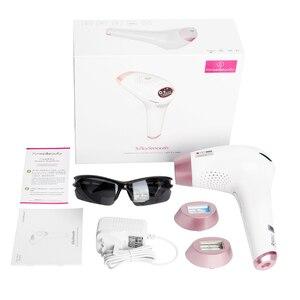 Image 5 - 3 in1 IPL Haar Entfernung Epilierer eine Laser 500000 Blinkt Haar Entfernung Maschine für Frauen Enthaarung Laser Haar Entfernung Gerät