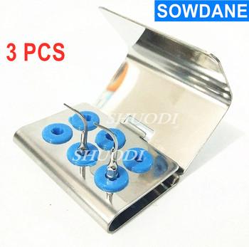 3 sztuk Dental sterylizować uchwyt bloku 6 otwory dla Ultra sonic Sonic skaler wybielanie zębów porady porady pracy dezynfekcji tanie i dobre opinie SOWDANE CN (pochodzenie)