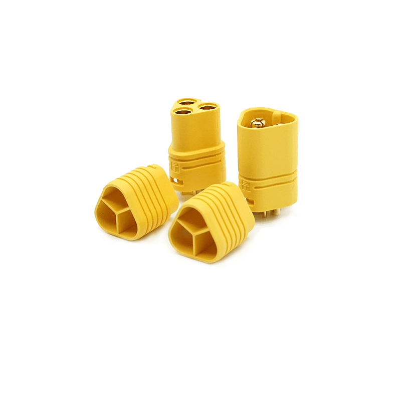 DIY Eskateboard Connectors MT60 3.5MM Male Female Plug Connector 1 Pair Flipsky