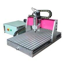 ماكينة صغيرة لتوجيه الأعمال الخشبية باستخدام الحاسوب على سطح المكتب طراز عام 4060