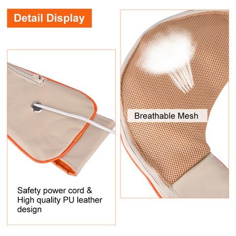 u forma eletrica pescoco massageador shiatsu ombro