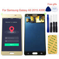 For Samsung Galaxy A5 2015 A500 SM- A500F A500FU A500M A500H LCD Display Monitor + Touch Screen Digitizer Glass Assembly