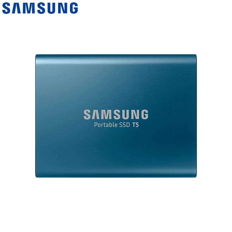 100%SAMSUNG External SSD USB3.1 T5 USB3.0 2TB 1TB 500GB 250GB Hard Drive External Solid State Drives HDD Desktop Laptop PC disco|External Solid State Drives| - AliExpress