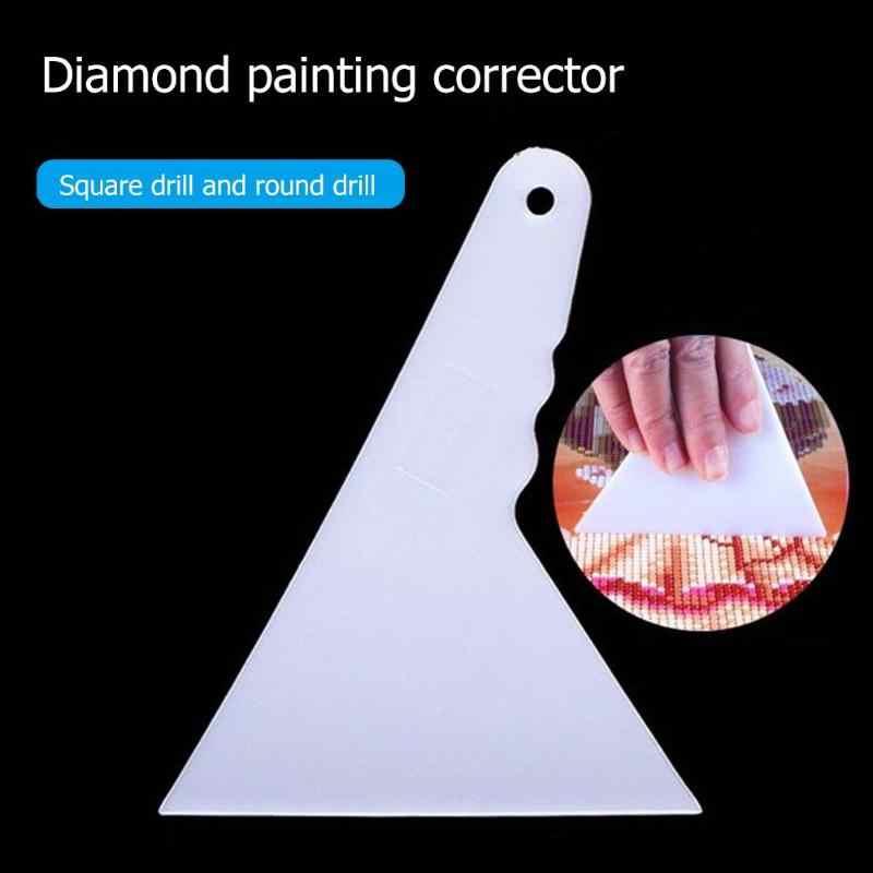 1 pc 5d ferramentas de correção pintura diamante ponto cruz desenho corrector molde adjusterd corrector para pintura diamante kits