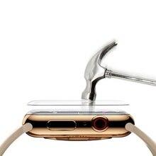 Закаленное пленка для Apple Watch 44 мм 40 мм iWatch 38 мм 42 мм экран протектор серия 6 SE 5 4 3 стекло крышка Apple часы аксессуары