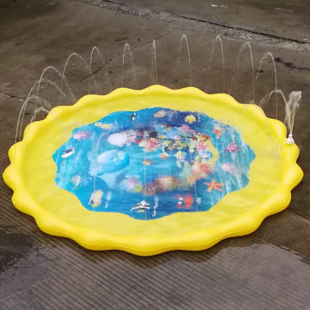 crianças jogar esteira de água jogos almofada