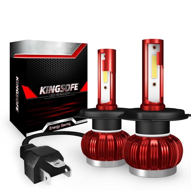 COB Chip H1 H4 H7 LED Headlight Conversion Kits H11 9005 9006 HB3 HB4 Car Light Bulbs Auto Lamp 6000K 12V