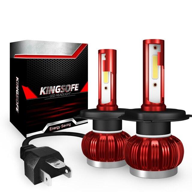 COB Chip H1 H4 H7 LED Scheinwerfer Conversion Kits H11 9005 9006 HB3 HB4 Auto Glühbirnen Auto Lampe 6000K 12V