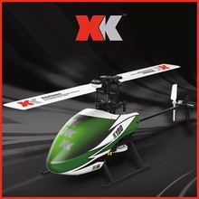 Wltoys XK K100 Falcom 6CH Flybarless 3D 6G System remote control toy Brushless Motor RC Helicopter RTF VS Wltoys V977 3axis gyro kbar v2 5 3 4pro k8 flybarless stabilization system for 450 500 550 600 rc helicopter