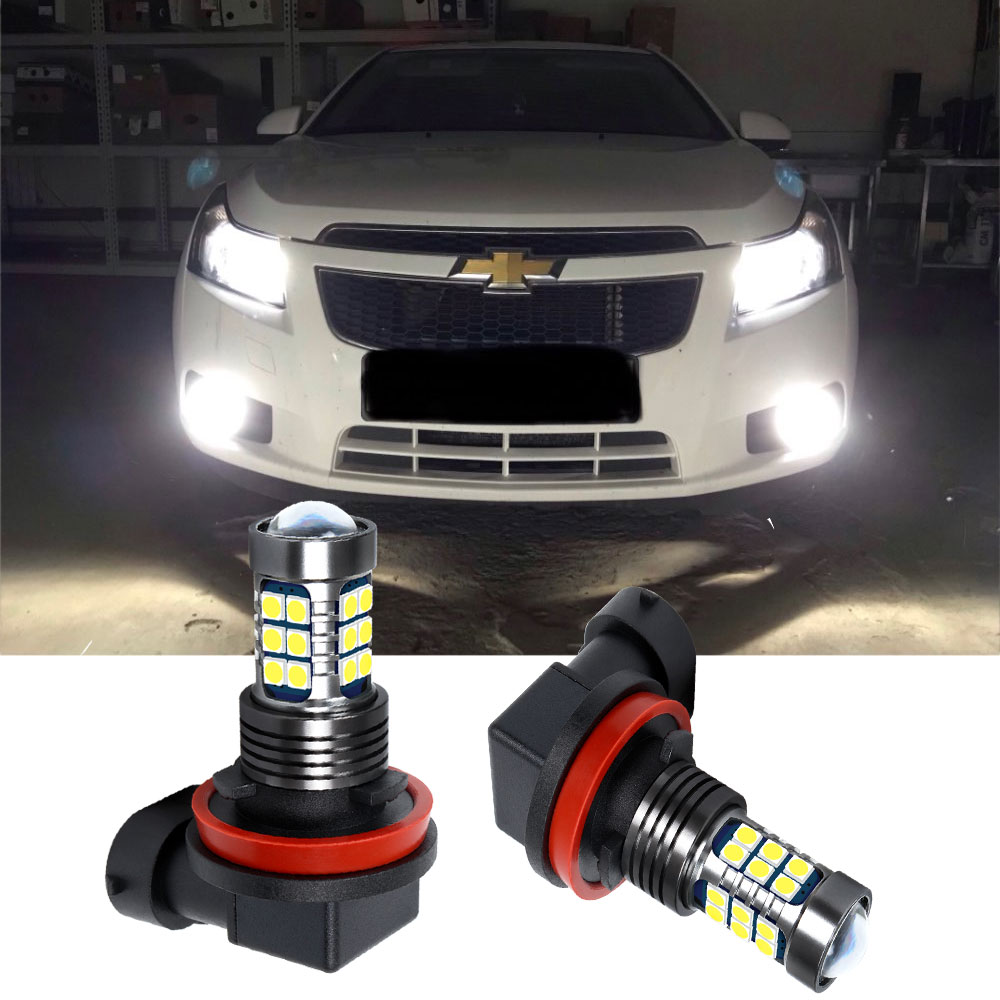H11 H8 LED Fog <font><b>Light</b></font> Bulb For <font><b>Chevrolet</b></font> Captiva Aveo Lacetti Spark <font><b>Cruze</b></font> <font><b>2011</b></font> Niva Orlando Driving <font><b>Running</b></font> Lamp Auto LED <font><b>Light</b></font> image