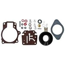 New Carburetor Carb Rebuild Repair Kit for Float Johnson Evinrude 18/20/25/28/30/40 HP 396701