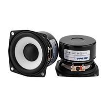 AIYIMA 2Pcs 2,5 Zoll 4 Ohm/ 8 Ohm Vollständige Palette Lautsprecher Audio HIFI Stereo Lautsprecher 15W Spalte für Heimkino DIY Lautsprecher