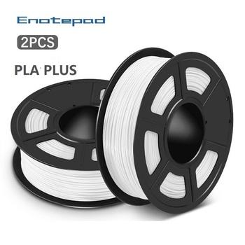 Enotepad PLA PLUS ramka drukarska filament 3D Filament PLA Filament 1 75MM 1KG szpula PLA + Filament do drukarki 3D 3D długopis tanie i dobre opinie CN (pochodzenie) Z jednego materiału 335 metrów +-0 02MM 100 no bubble 1 75mm 3 0mm 190-220 degree C RoHS Reach