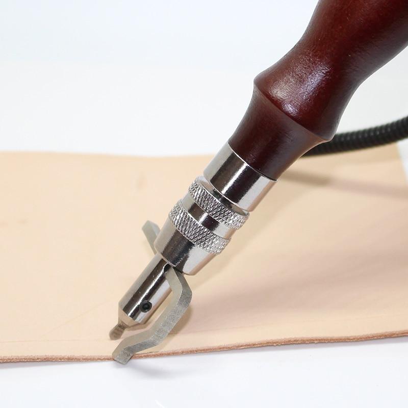 7 в 1 многофункциональный инструмент для шитья и сгибания кожаных кромок, набор инструментов для изготовления кожи