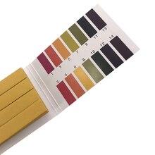 Ph тестовая бумага Ph обширная тестовая бумага Ph тестовая бумага 1-14phph бумажная тестовая кислота и щелочь широкая полоса экспериментальное оборудование