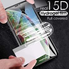 Filme de hidrogel 300d para zte lâmina a3 prime protetor de tela protetora filme frontal não vidro temperado