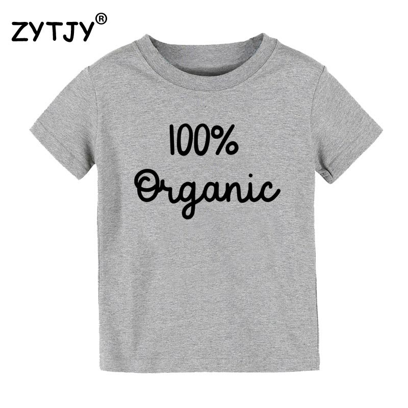 Kids Tshirt Tumblr Organic Toddler Clothes Funny Children Boy for Top Tees Drop-Ship/cz-60