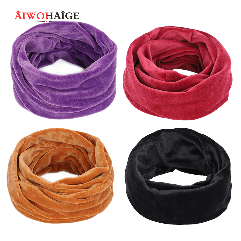 Women Hats Ski Snood Scarf For Women Winter Scarves Silk Scarf Warm Black Wholesale Popular Personalized 14 Colors Dropshipping