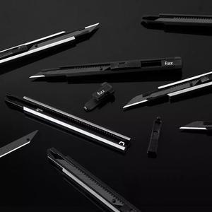 Image 5 - Neue Xiaomi Fizz Aluminium legierung utility messer Metall klinge self locking design sharp winkel mit bruch messer cutter