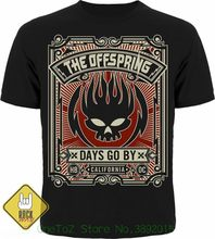 T-shirt Short Sleeve Brand Rock Metal Punk Band The Offspring Days Go By Men' S Women' S Unisex T-shirt(China)