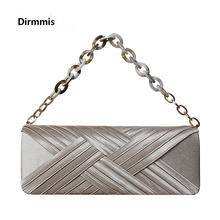 New Fashion Purse Women Solid Luxury Champagne Vintage Evening Bags Elegant Shoulder Handbags Party Wedding Casual Day Clutch