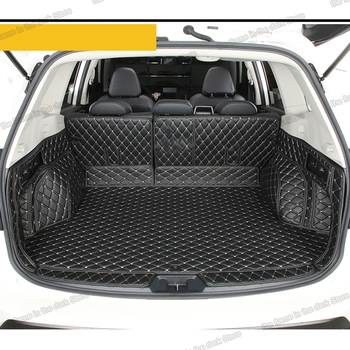 цена на Lsrtw2017 Fiber Leather Car Trunk Mat Cargo Liner for Subaru Xv 2018 2019 2020 Rug Carpet Interior Accessories Sticker