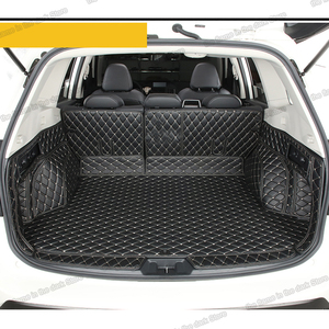 Lsrtw2017 estera de maletero de coche de cuero de fibra para Subaru Xv 2018 2019 2020 alfombra accesorios interiores adhesivos