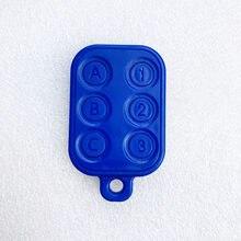 Novo 6 em 1 rfid múltiplo keyfob 125khz em gravável t5577 ic 13.56mhz m1k s50 uid mutável cuid complexo chaveiro tag cartão