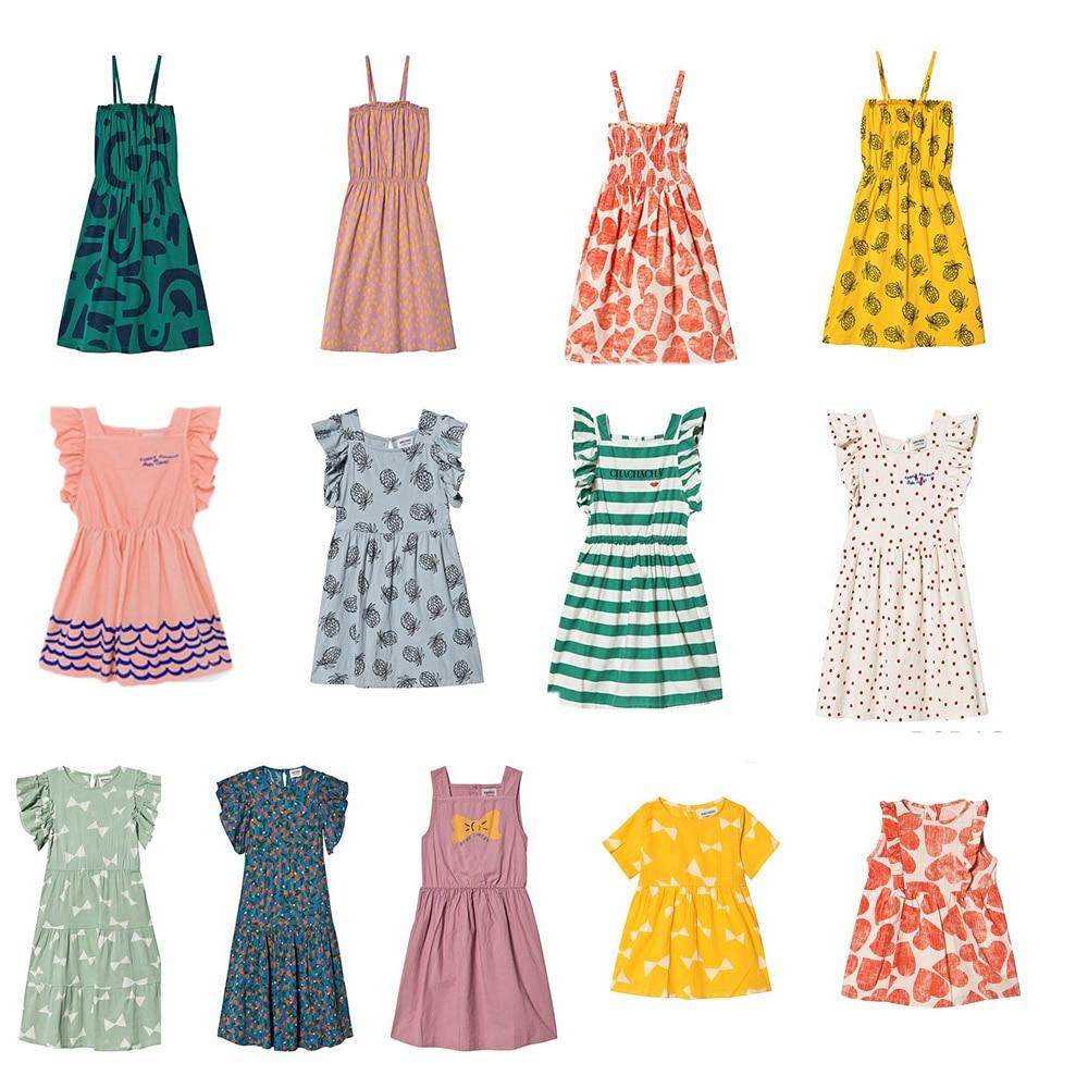 ><font><b>2020</b></font> BC Brand <font><b>New</b></font> <font><b>Spring</b></font> Summer Kids Dresses For Girls Fashion Print Short Sleeve Dress Baby Child Princess Clothes