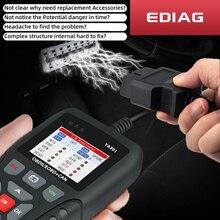 Car repair tool EDIAG OBD2 Scanner YA301 Car Code Reader for Check Engine Light PK Launch CR3008 KW850  NX501