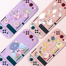Funda de piel suave de silicona TPU para Nintendo Switch, carcasa de dibujos animados, accesorios para Nintendo Switch NS, ultrafina