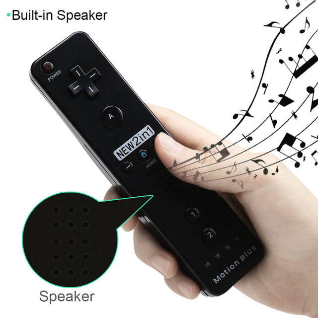 Built-in Motion Plus Wireless Remote Controller Gamepad Per Nintend Wii Nunchuck Per Nintend Wii Remote Controle Joystick Joypad 3
