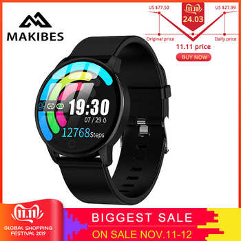 Makibes T5 PRO Advanced Milanese magnetic Fitness Tracker Smart Watch Blood Pressure Monitor Smartwatch Fashion PK Q8 Bracelet - DISCOUNT ITEM  65% OFF All Category