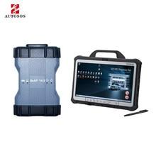 Ferramenta de diagnóstico automático do varredor c4 c5 c6 usado para o carro do benz com epc wis das máquina de diagnóstico do carro
