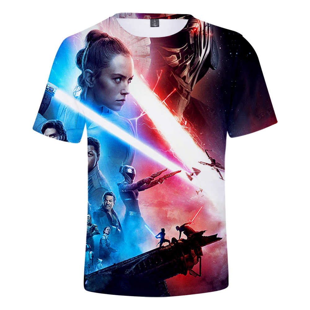 Hot Sale Game 3d Print Star Wars The Rise Of Skywalker T Shirt For Kids Adults Kpop Streetwear Teenagers Unisex Tees Tshirt Men Aliexpress