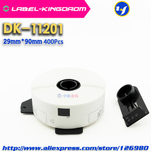 Image 5 - 15 Refill Rolls Compatible DK 11201 Label 29mm*90mm Die Cut Compatible for Brother Label Printer White Paper DK11201 DK 1201