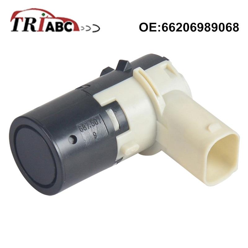 66206989068 PDC Parking Sensor For BMW 5 E39 X5 E53 Z4 E85 Convertible MINI R50 R52 R53 66206989081 Sensor De Aparcamiento in Parking Sensors from Automobiles Motorcycles