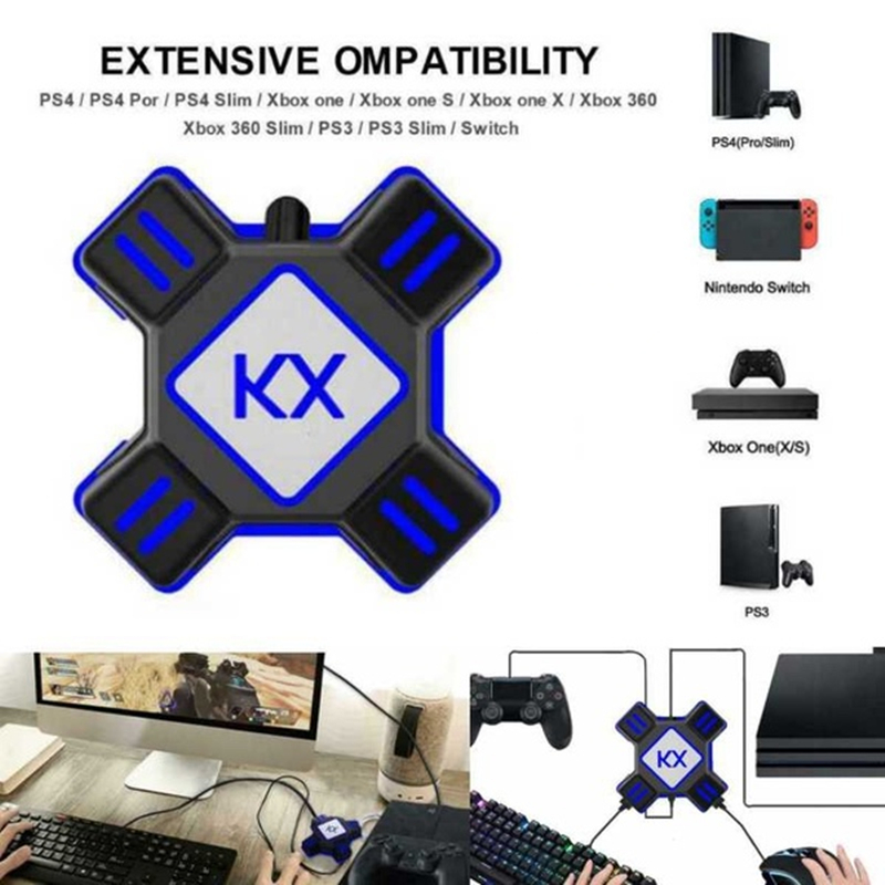 Quick Response Keyboard and Mouse Converter Adapter for Switch Ps4 Ps3 Xbox Fps Game Strongest Equipment image