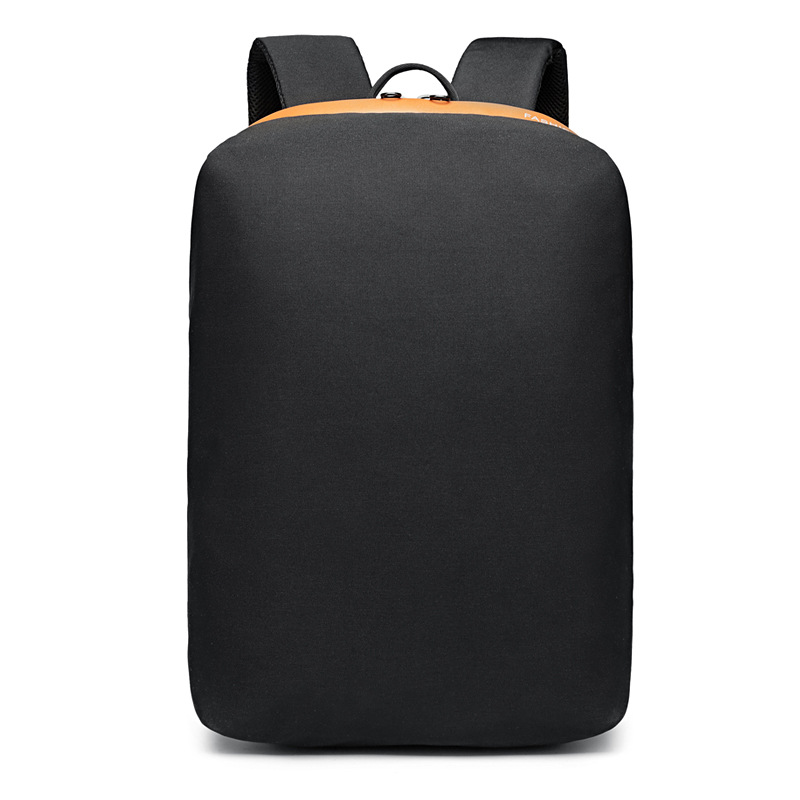 Logwood Backpack Men's College Student School Bag Korean-style Fashion Youth Computer Bag Waterproof Anti-Theft Business Backpac image