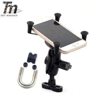 Uchwyt do nawigacji GPS uchwyt na telefon komórkowy dla SUZUKI GSF 400/650/1200/1250 BANDIT GSF400 GSF650 GSF1200 GSF1250 wspornik obsady