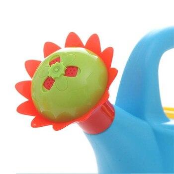 Home Sprinkler Spray Garden Plastic Beach Cute Cartoon Flowers Kids Watering Can Bottle Bath Toy Early Education Watering Toy 5