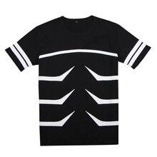 Brdwn Tokyo Ghoul Unisex Kaneki Ken T-Shirt Stripe Tee Tops