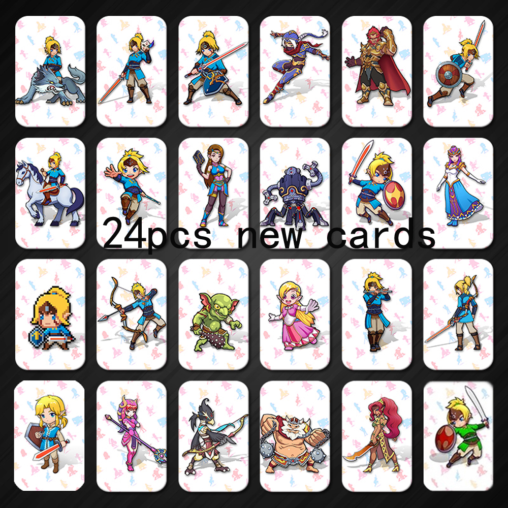 Mario Kart 8 Deluxe Breath For The Wild Zelda Amiibo The Games Card Of Super Smash Bros Link Switch NFC Coins Card Super Odyssey